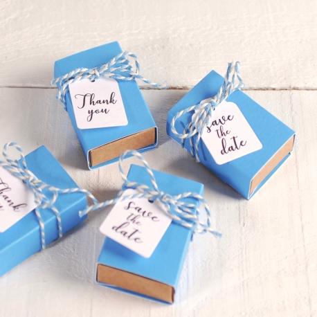 Cajita para regalitos de boda