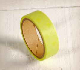 Lime green washi tape