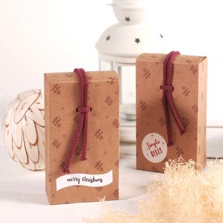 Scatolina natalizia con cordoncino