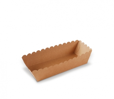 Pappschalen für Nahrungsmittel