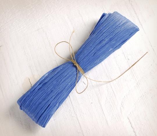 Matte rayon raffia fibre thread