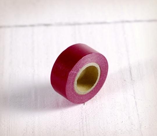 Washi tape mini bordeaux