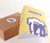 Kraft gift box with lid