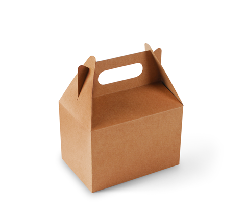 Caja Picnic De Cartón Para Regalos