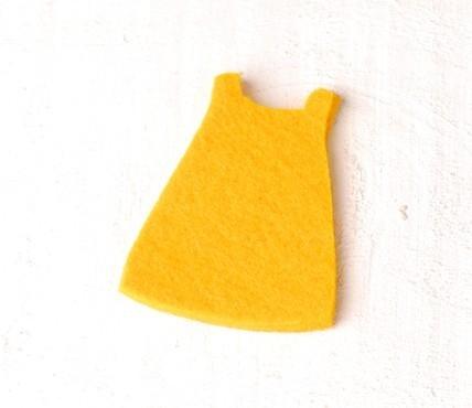 Felt - Girl dress