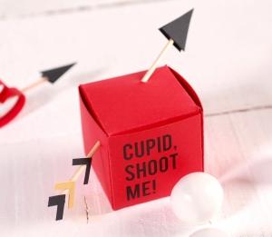 Scatolina con frecce di Cupido!