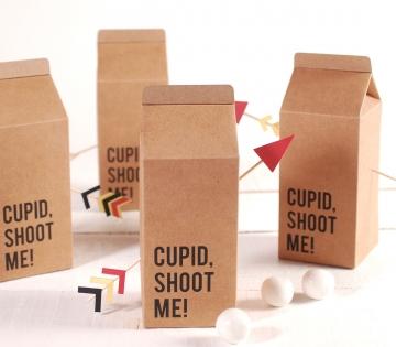 Carton-shaped printed box