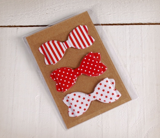 Red bow ties