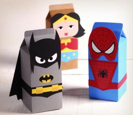 Cajas regalo superhéroes