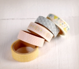 Pack Washi Tape Nordisch