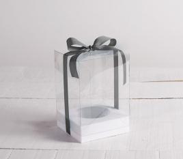 Easter egg box wih ribbon