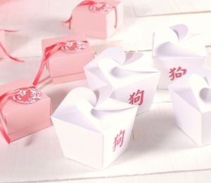 Printed Chinese noodles box