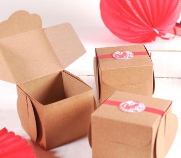 Caja para regalos de estilo oriental
