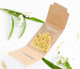 Scatolina per semi da regalare agli invitati