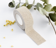 Fabric tape di lino largo