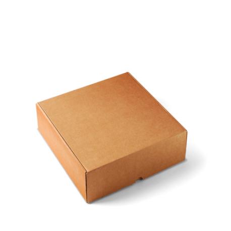 Scatola quadrata per spedizioni