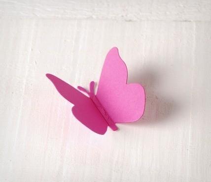 Cardboard Butterflies 10 ut.