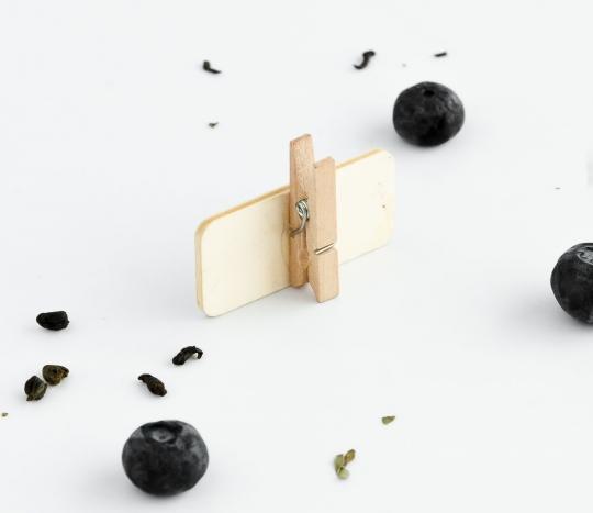 Mini pizarras con pinza