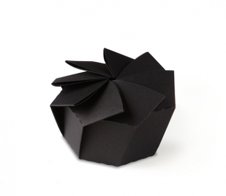 Easy Origami flower. 3d paper flower. Great decor for gift box ... | 398x458