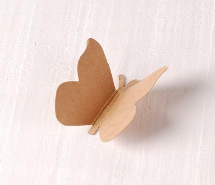 Mariposa Cartón 10 ud.