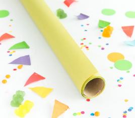 Geschenkpapier in Pastellfarben