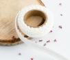 Fabric tape di pizzo ricamato