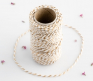 Bakers Twine metallisiert