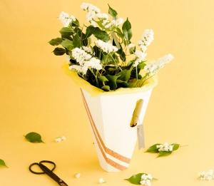 Scatola per mazzi di fiori minimal