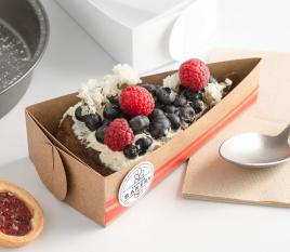 Schachtel für ein Tortenstück