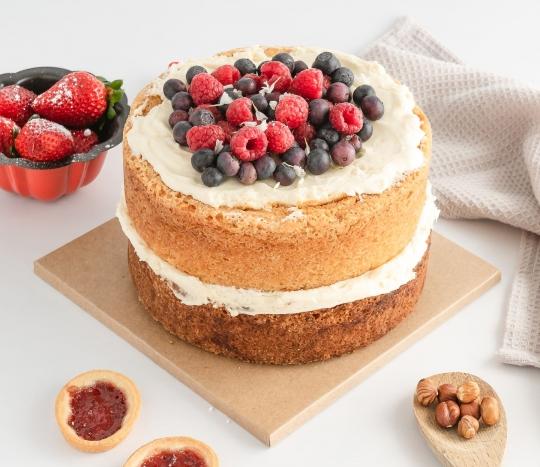 Cake base - 21x21cm