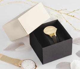Quadratische Schachtel für Uhren
