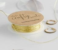 Gold cord for gifts
