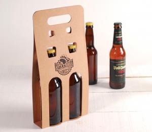 Caja de cerveza para duos