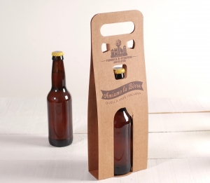 Box for a single beer