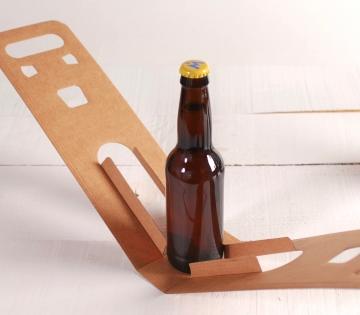Caja de cerveza individual