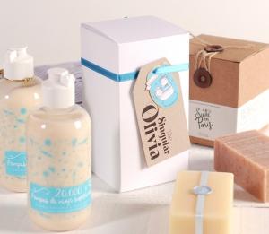 Kleine Schachtel für die Produktpräsentation