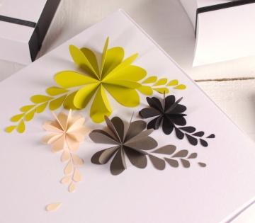 Schachtel mit 3D-Dekoration