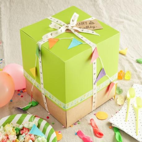 Caja para tarta pequeña