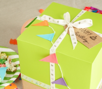Kleine Schachtel für Torten