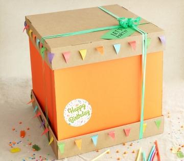 Caja para tarta grande