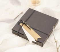 Caja plana para invitaciones