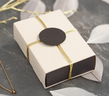 Elegant box with a sleeve