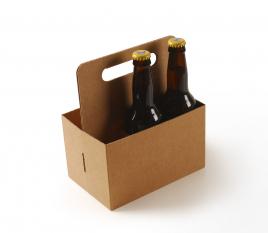 Scatola per birra con manico