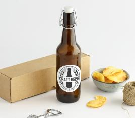 Bierflasche mit Bügelverschluß
