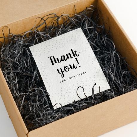 Cartolina di ringraziamento formato A6