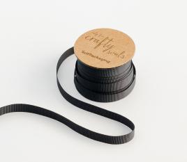Black grosgrain ribbon