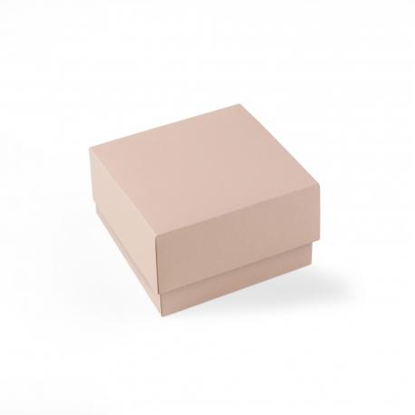 Scatola quadrata rivestita