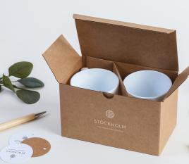 Caja para tazas M