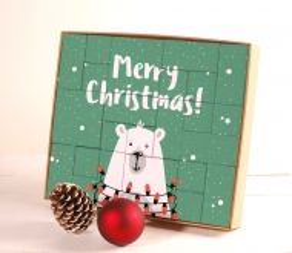 Calendario dell'Avvento Merry Christmas!