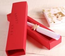 Flache Kugelschreiber-Box